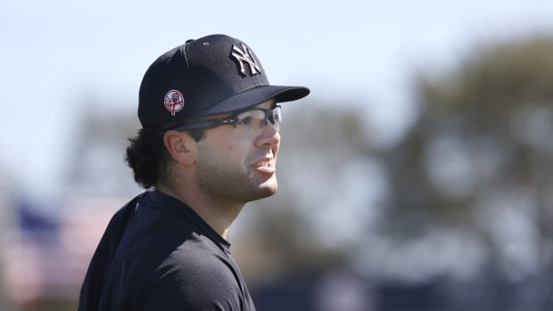 Yankees catching prospect Austin Wells at Spring Training