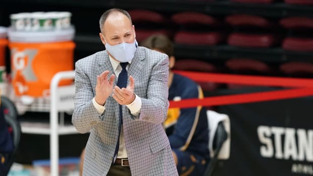 Cal coach Mark Fox
