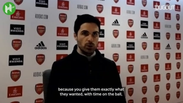 Arteta: 'Nothing is worse than going behind so early'