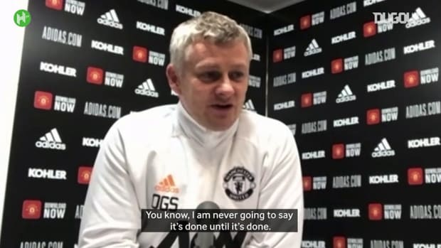 Ole Gunnar Solskjær: 'Title race not over until it's over!'