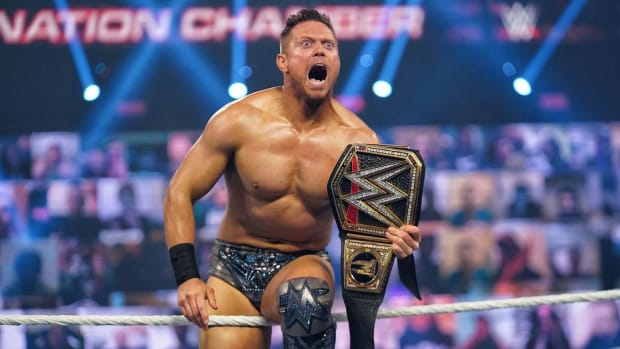 The Miz took home the WWE Championship Sunday night at Elimination Chamber