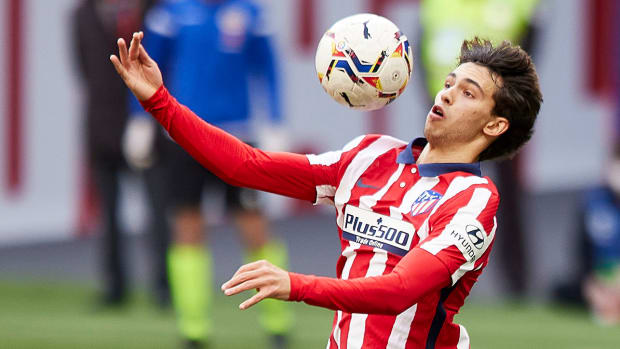 Joao Felix during the La Liga match between Atletico de Madrid and Levante UD