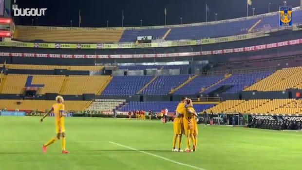 Nico López's brace vs Tijuana
