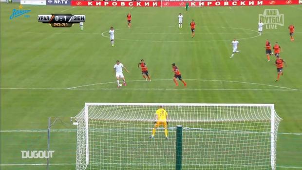 Artem Dzyuba's best goals for Zenit