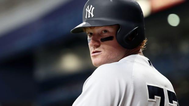 Yankees' outfielder Clint Frazier
