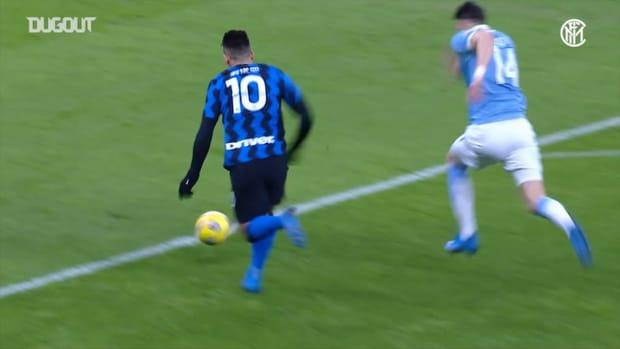 Lukaku and Lautaro knock Lazio out