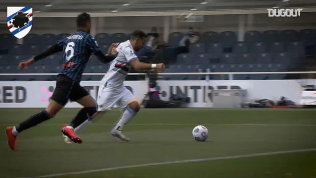 All Quagliarella's goals in the 2020-21 season so far