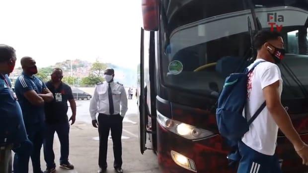 Behind the scenes of Flamengo's victory over Internacional