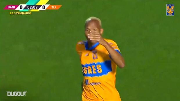 Luis Quiñones's impressive goal vs Tijuana