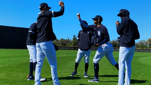 Yankees prospect Luis Medina