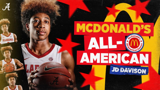 JD Davison McDonald's All-American