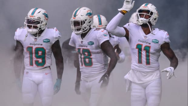 Dolphins wide receivers