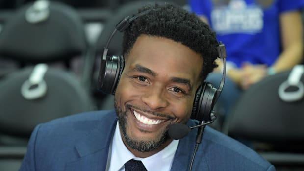 TNT analyst Chris Webber