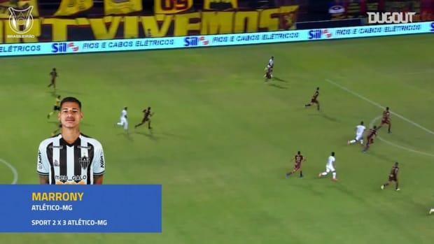 Brasileirão's top three goals of matchweek 37
