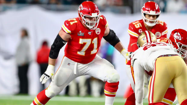 Chiefs tackle Mitchell Schwartz