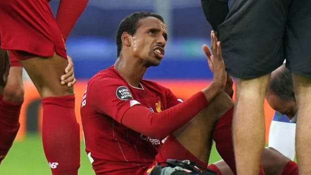 Liverpool Joel Matip missing from squad against United
