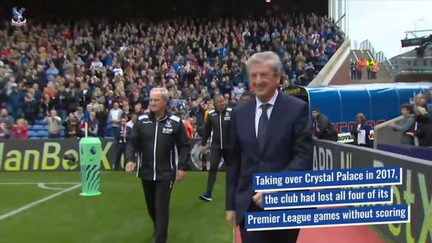 Roy Hodgson's 150 games with Crystal Palace
