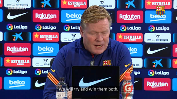 Ronald Koeman: 'Ronald Araujo has options to play'
