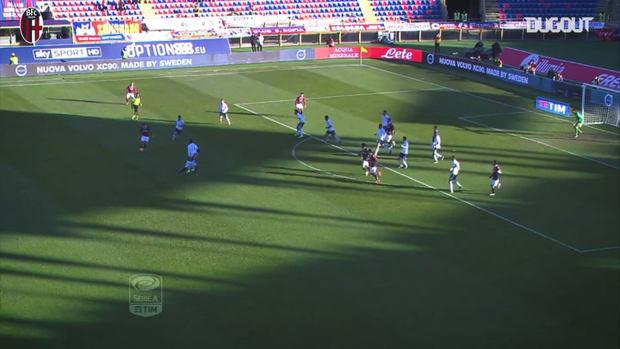 Bologna's last home goals vs Lazio