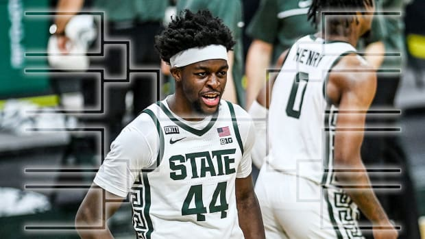 Michigan State's Gabe Brown