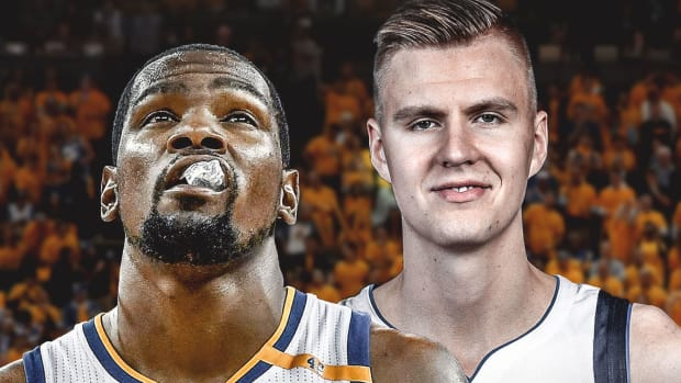 Warriors-news-Kevin-Durant-has-skipped-postgame-interviews-since-Kristaps-Porzingis-trade