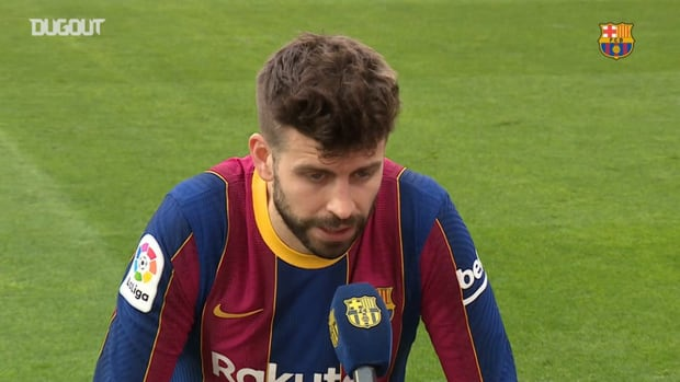 Gerard Piqué: 'Let's see if we can comeback against Sevilla'
