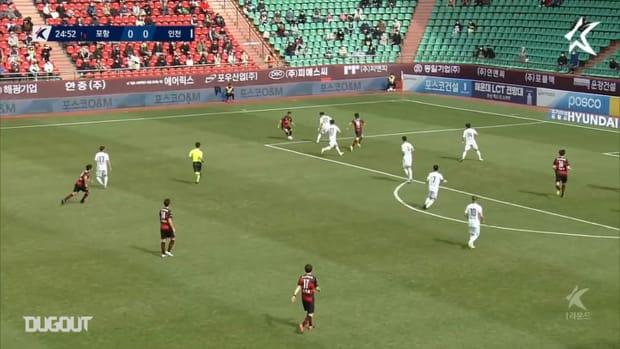 Pohang 2-1 Incheon: Song Min-kyu nets winner