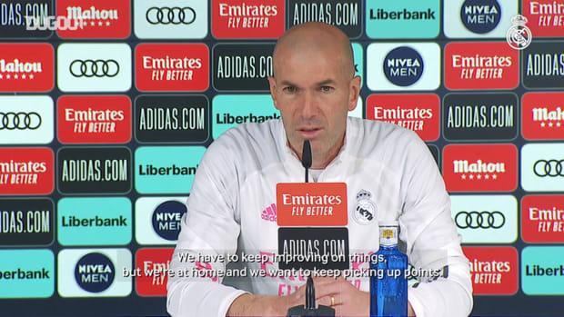 Zinedine Zidane: 'LaLiga is still there to be won by anyone'