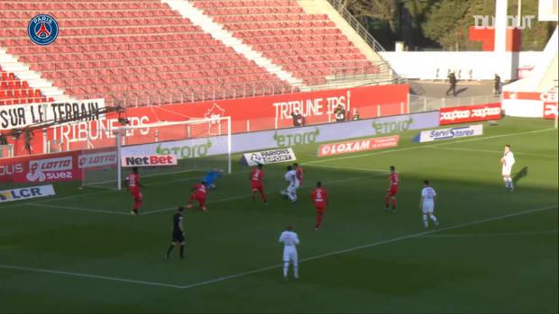 L'ouverture du score de Moise Kean face à Dijon
