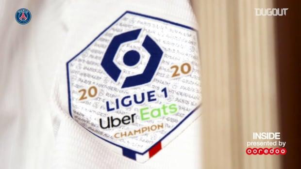 PSG win against Dijon behind the scenes