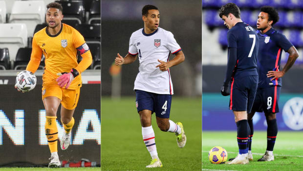USMNT's Zack Steffen, Tyler Adams, Gio Reyna and Weston McKennie