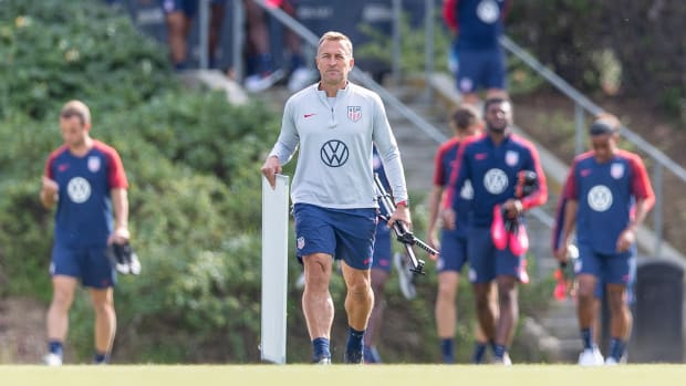 USA U-23 national team coach Jason Kreis