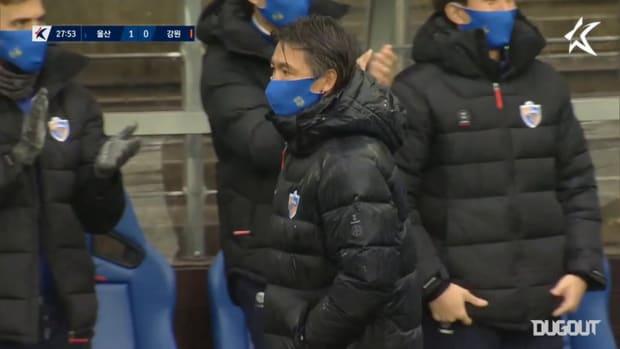 Ulsan 5-0 Gangwon: Hong Myung-bo era kicks off in style