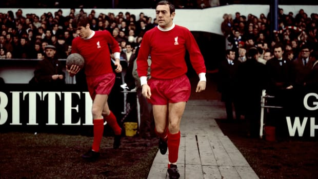 Liverpool great Ian St. John