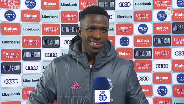 Vinicius Jr. 'It's a big achievement to play 100 games in these colours'
