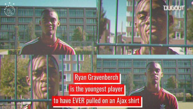 Ryan Gravenberch, Ajax's youngest player of all time