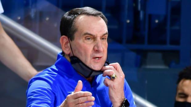 Mike Krzyzewski and Duke have made the NCAA tournament every season since 1996.
