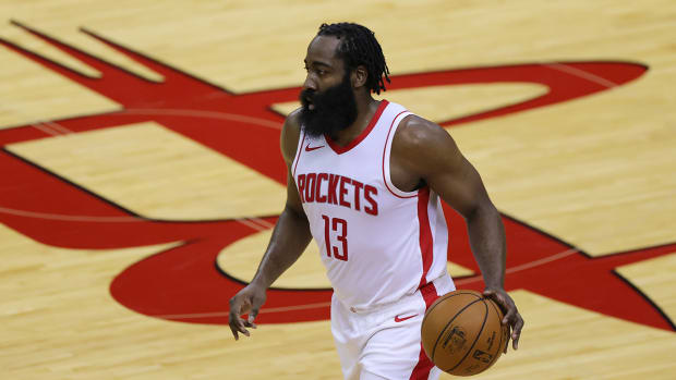 James Harden with the Rockets