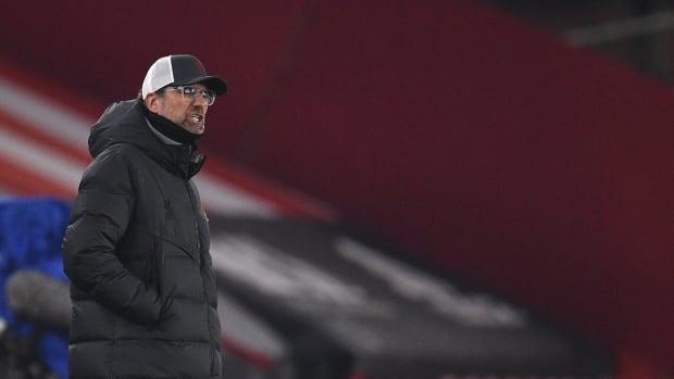 Jurgen Klopp during Liverpool's 2-0 win over Sheffield United