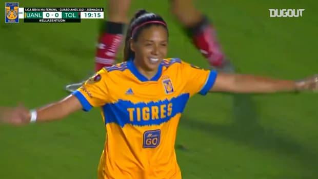 Tigres Femenil beat Toluca 2-0