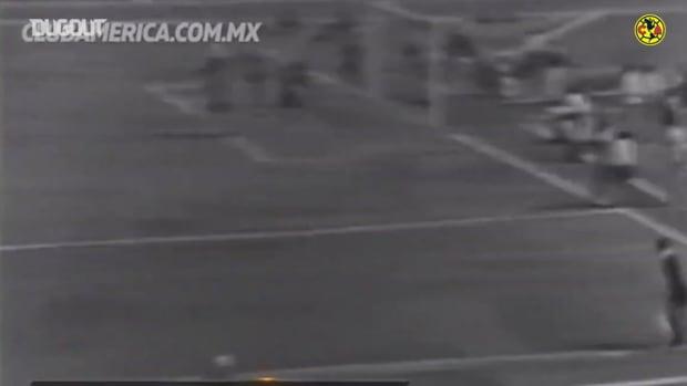 Jorge 'Coco' Gómez's historic corner kick goal