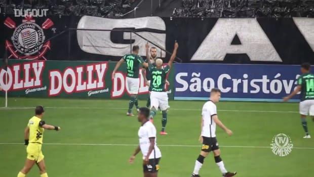 Check Palmeiras' goals in the draw against Corinthians