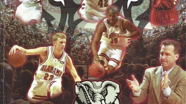 Alabama basketball 2001-02 media guide cover