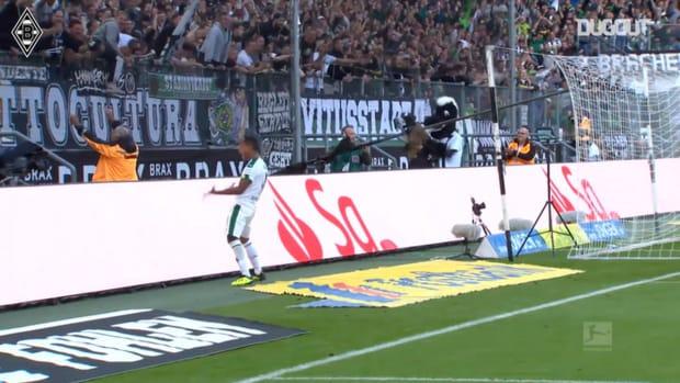 Johnson rounds of stunning team move vs Bayer Leverkusen