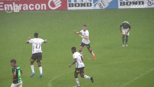 Check Corinthians' goals in the draw against Palmeiras