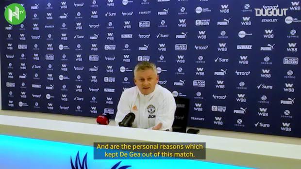 Ole Gunnar Solskjaer on David De Gea, Bruno Fernandes availability