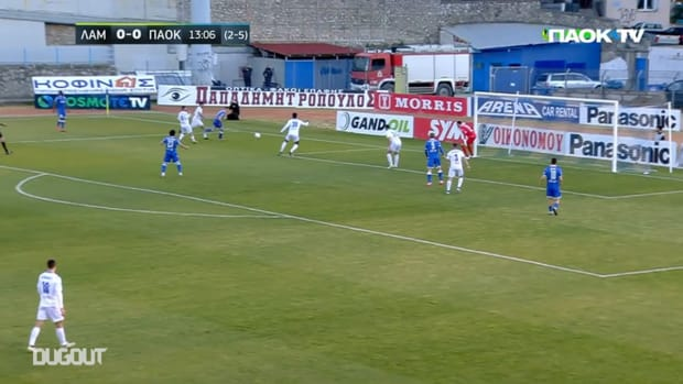 Shinji Kagawa's first PAOK assist