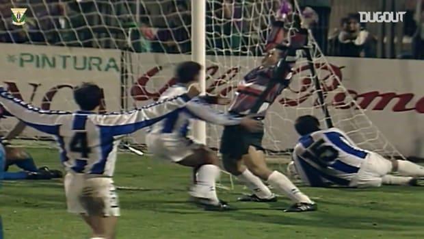 When goalkeeper Mario Soria scored for Leganés