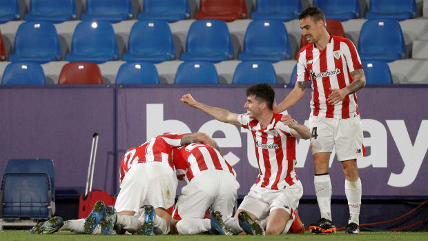 Athletic Bilbao reaches the Copa del Rey final