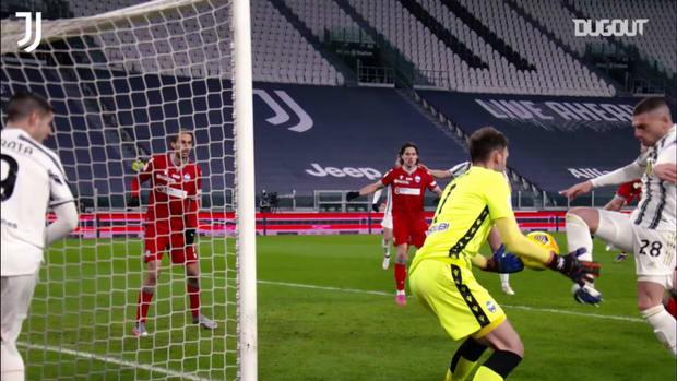 Demiral's best defensive blocks at Juventus so far